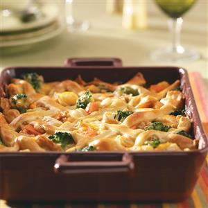 Lattice Chicken Potpie Recipe