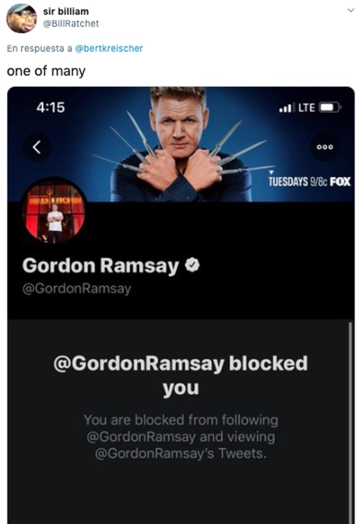 2b 1 - 12 veces que los famosos bloquearon a sus fans en Twitter. Drake intentó borrar la humillación
