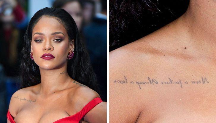 secretos tatuajes famosos13 - 15 mensajes que ocultan los tatuajes de los famosos. El de Kendall Jenner es un punto blanco