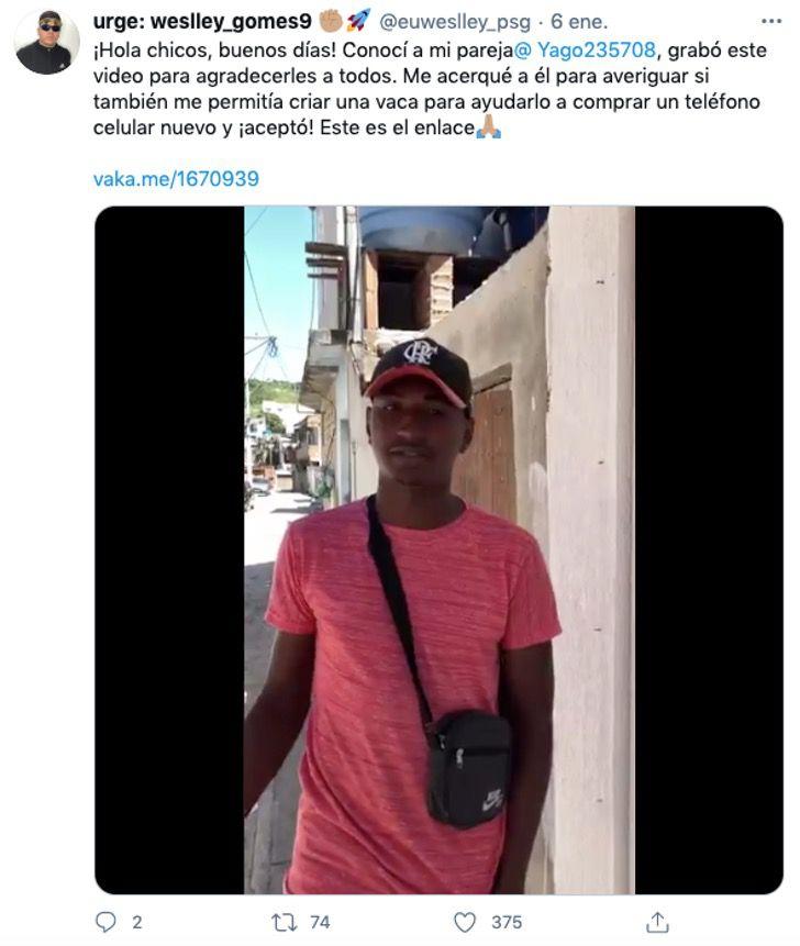 vendedor dulces brasil ayuda amigos vecinos corazon0001 - A vendedor callejero se le caen sus dulces y desconocidos los compran. Ayudaron a quien lo necesitaba