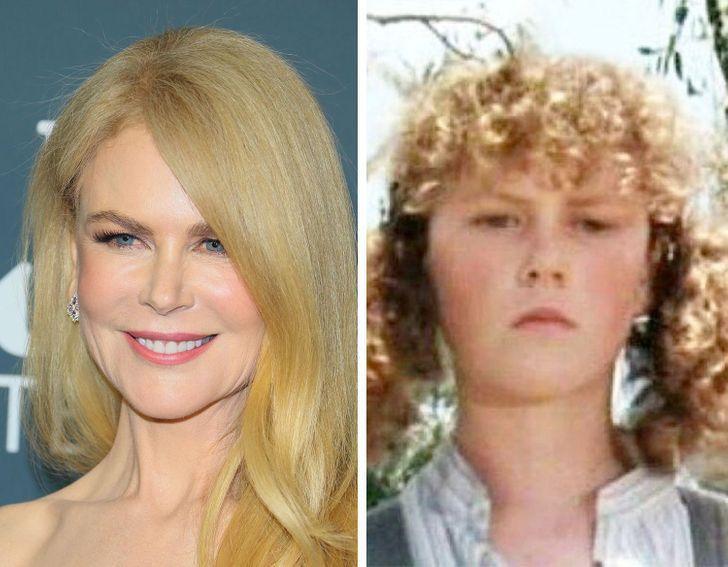 14 13 - Así lucían estas 15 estrellas de Hollywood en sus primeros papeles. Angelina era idéntica a Shiloh