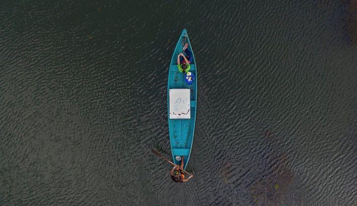 Captura de Pantalla 2021 03 15 a las 18.00.10 - Maestra viaja en canoa para llevar educación a alumnos indígenas. No tienen conexión ni equipos