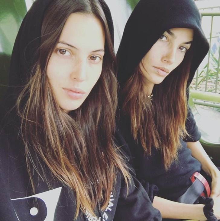 hermanas combinan atuendo7 - 12 fotos de hermanas famosas combinando sus atuendos. Kendall y Kylie parecen gemelas