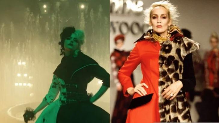 """10 22 - 15 icónicos vestidos de moda que inspiraron los glamorosos looks de """"Cruella"""""""
