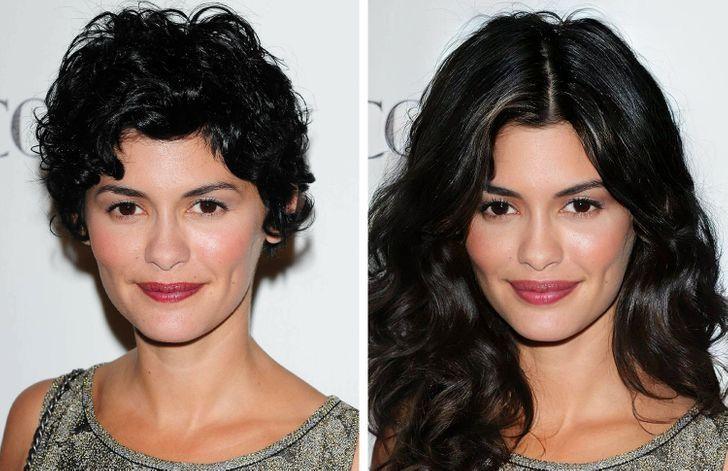famosas tendencias belleza14 - Así se verían 15 mujeres famosas si hubiesen cambiado sus peinados por algo más moderno