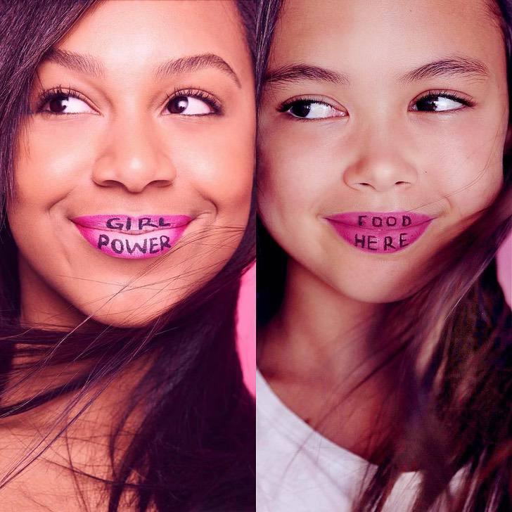 nina recrea looks1 - 17 fotos de Riley, la niña de 12 años que recrea los mejores atuendos de las famosas