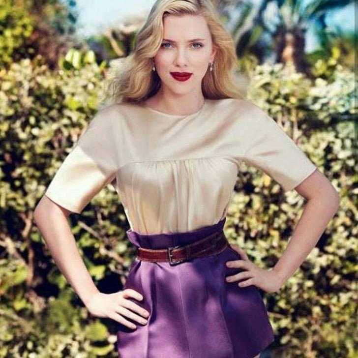 """famosos enamorados8 - 10 celebs que estuvieron """"enamoradas"""" de otras celebs. A Scarlett Johansson le gusta Gordon Ramsay"""