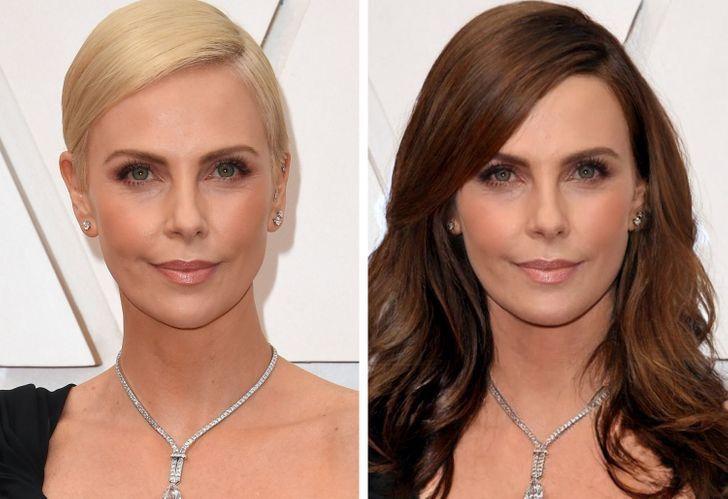famosas iconicos looks1 - 11 mujeres famosas y cómo cambiaría su apariencia si dejaran de usar sus icónicos looks
