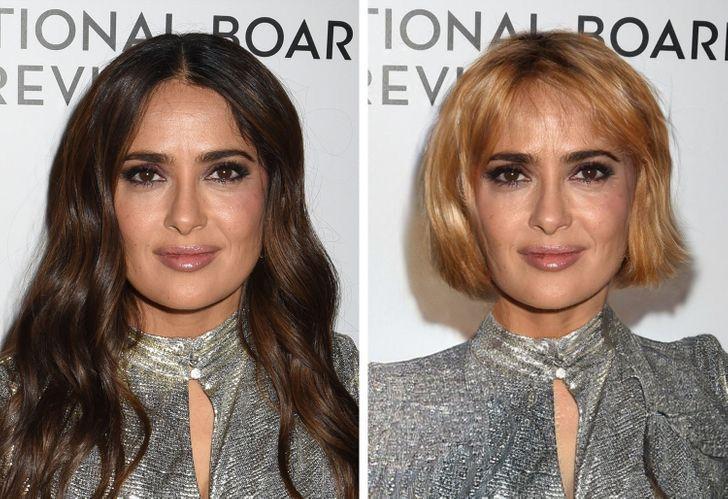 famosas iconicos looks9 - 11 mujeres famosas y cómo cambiaría su apariencia si dejaran de usar sus icónicos looks