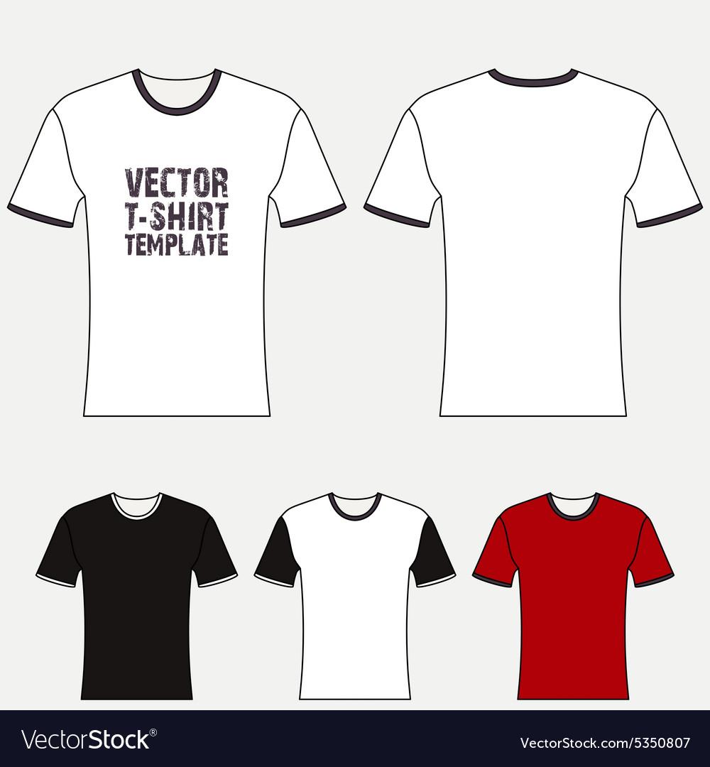 T Shirt Blank Design Template