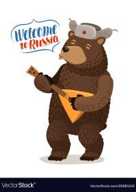 Afbeeldingsresultaat voor russian bear cartoon
