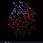 Demon Horse Vector Images 56