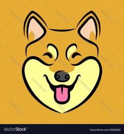 Mesmerizing Cartoon Dog Face Cartoon Dog Face Icons Png Free Png