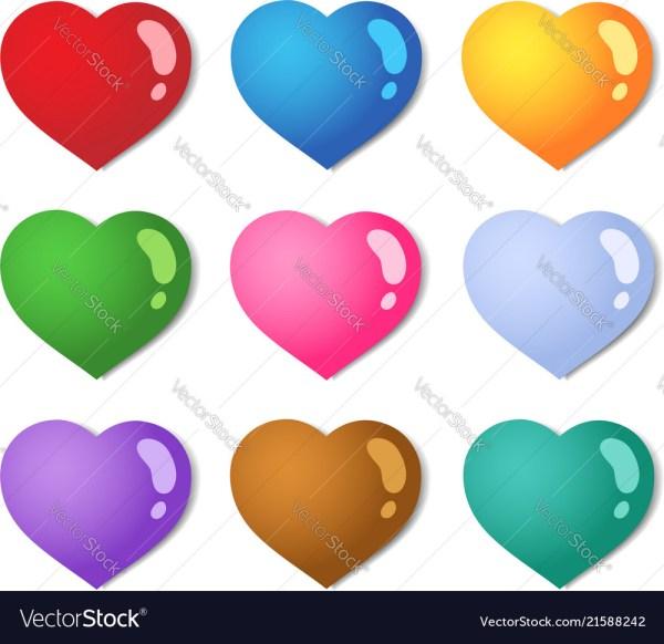 hearts colors # 60