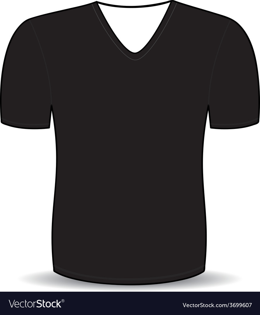 Blank t shirt template Royalty Free Vector Image Blank t shirt template vector image
