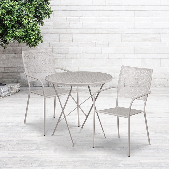 wow metal patio table and chair sets enhance your space
