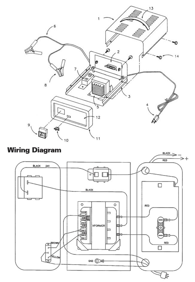 Schumacher 4020 Charger Parts  Wiring Diagram Pictures