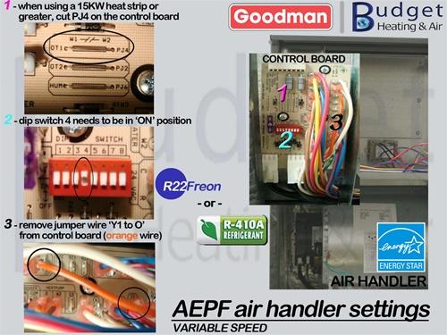Low Volt Wiring Diagram For Goodman R22 Heat Pump Package