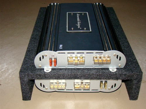 amplifier rack type 1 holds one or two car audio amplifiers amp rack