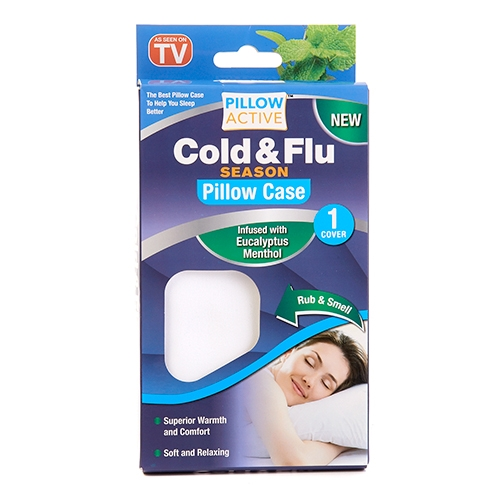 pillow active cold and flu pillowcase as seen on tv