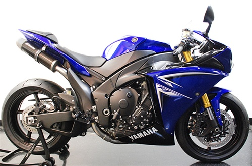 2009 2014 yamaha r1 graves motorsports full stainless steel oval exhaust system conical end caps