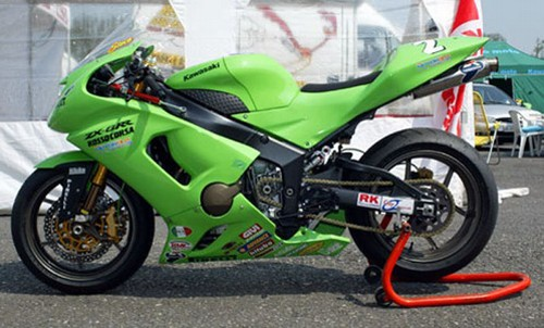 2005 2006 kawasaki zx6rr zx6r 636 termignoni racing slip on exhaust system blowout free m fi controller