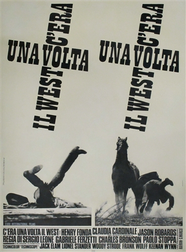 once upon a time in the west italian 2 sheet