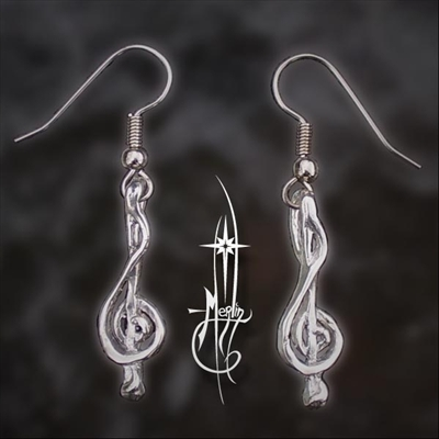 The Treble Clef Earrings
