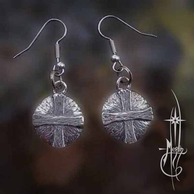 The Solar Cross Earrings