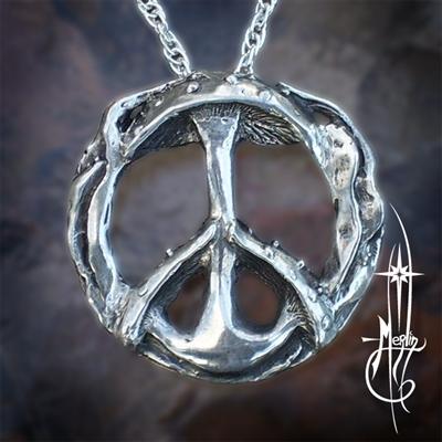 Peaceful Mushroom Amulet