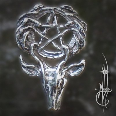 Hern and Pentacle Amulet