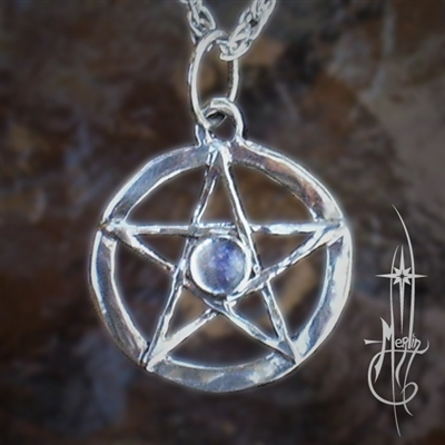 Small Star with Moonstone