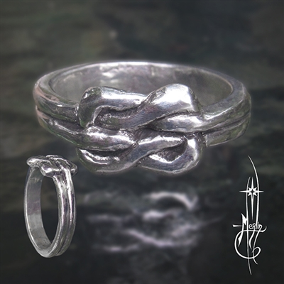 Traditional Lover's Knot Ring