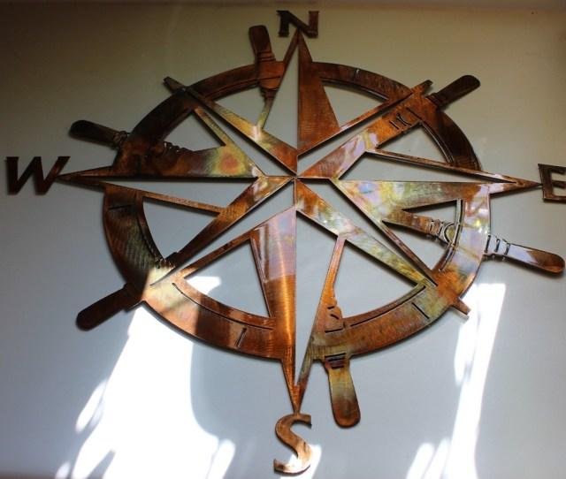 Captains Nautical Compass Rose
