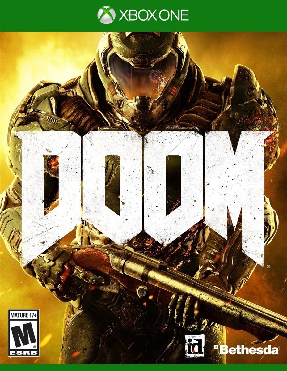 Doom Xbox One Blu Ray Rental