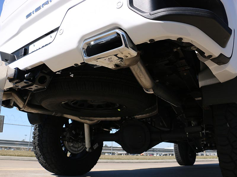 borla 3 5 s type cat back single exhaust system w factory rear exit reuse factory tips 2019 2021 silverado 1500 6 2l v8