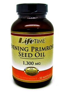 lifetime evening primrose oil 1300mg 50