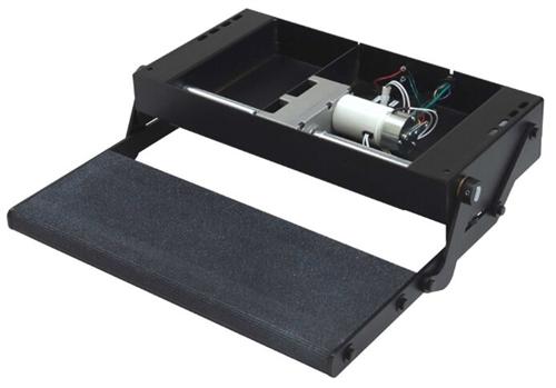 "Lippert 353542 24"" Single Tread Lite RV Power Step W"