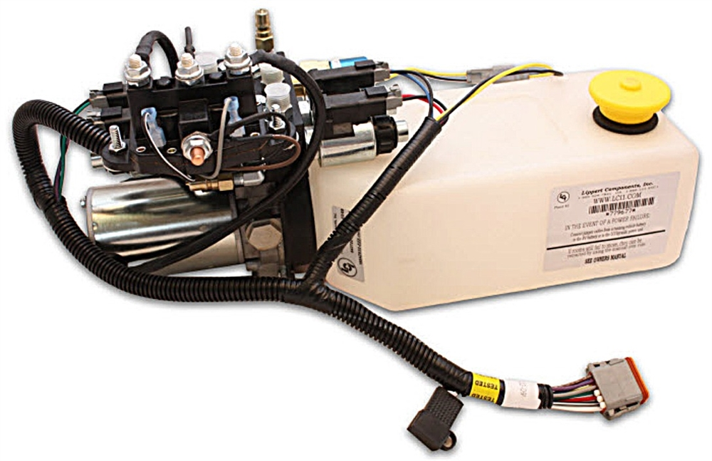 Lippert 045115128 Gas Pump and Power Unit for Damon