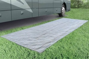 Prest-O-Fit 2-3030 Aero-Weave Seascape Outdoor RV Patio Mat - 7-1/2' x 20'