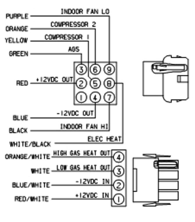 coleman mach thermostat wiring diagram  2005 chevy
