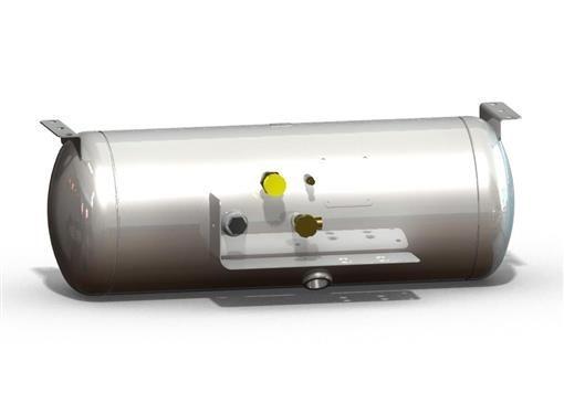 manchester tank 6829 asme permanent horizontal mount propane tank 24 2 gal