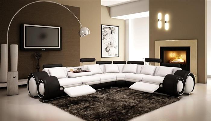 Italian Design Franco Sectional Sofa Tos Lf 4087 & Franco Leather Sofa Reviews   Centerfieldbar.com islam-shia.org