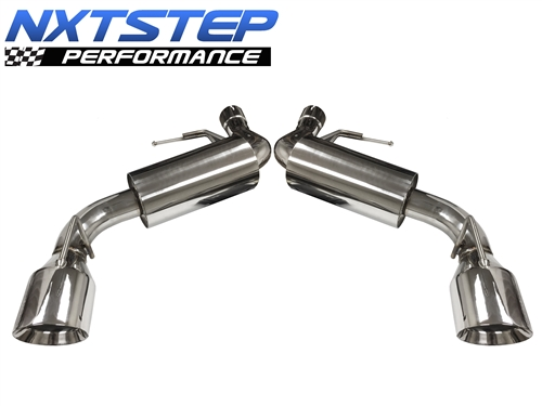 2016 2021 chevy camaro ss 6 2l v8 axle back exhaust system ex7003