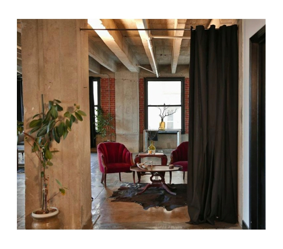 adjustable tension rod dorm room dividers curtain hanger