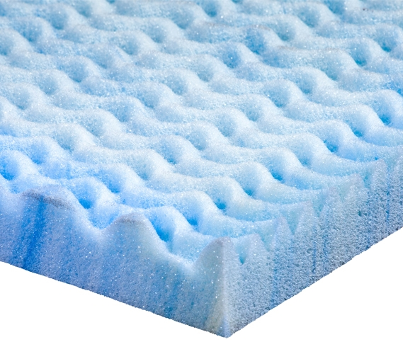 Gel Infused Memory Foam Txl Topper