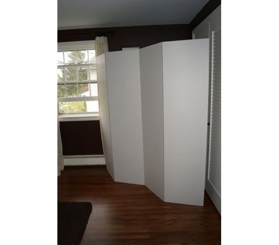 dorm divider privacy room divider white