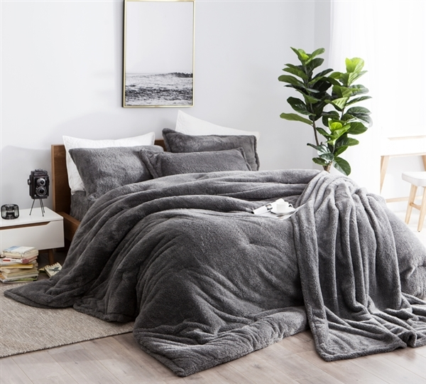coma inducer king comforter charcoal oversized king xl bedding