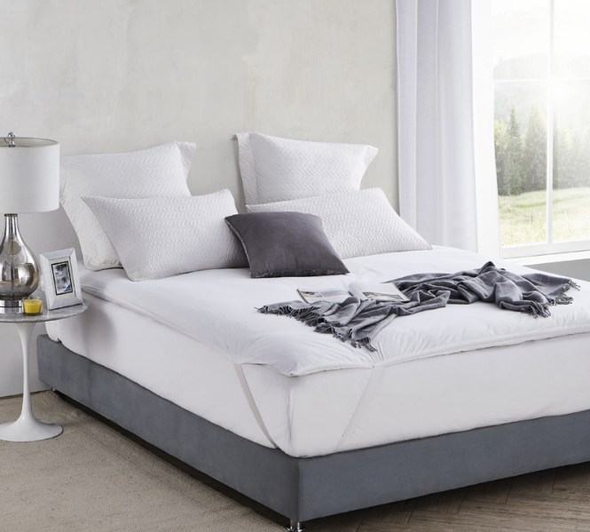 Full Featherbed Protector Oversized Xl Bedding