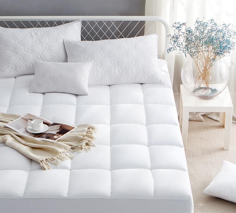 ultimate thickness down alternative california king mattress pad